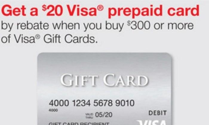 staples visa gift card deal