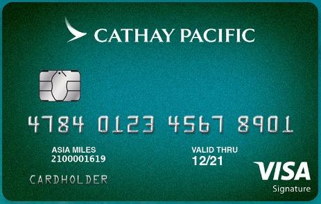 Cathay Pacific Credit Card 65K bonus