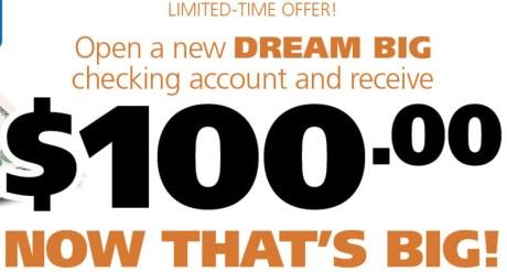 Westfield Bank 100 Bonus