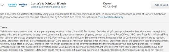 My American Express Account Summary Osh Kosh.jpeg