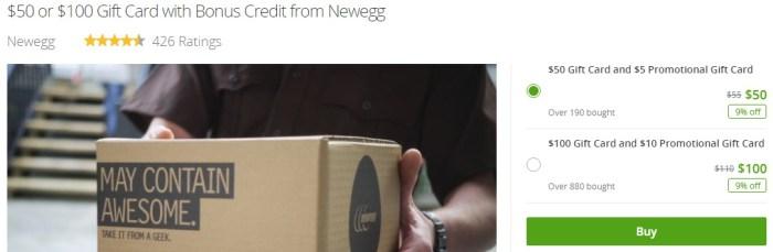 Newegg Gift Card   Newegg   Groupon.jpeg