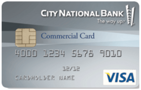 CNB Visa Commercial Card