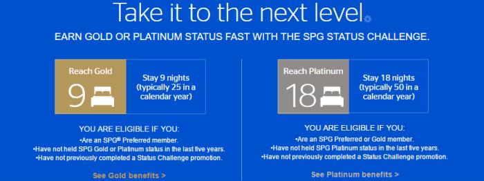 spg status challenge