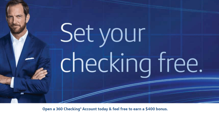 Capital One 400 Checking Account Bonus