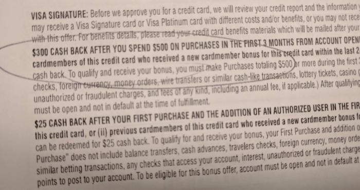 Chase Freedom Unlimited 300 bonus