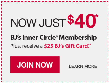 Get A New BJ's Membership For $15, Plus $25 Referral Bonus