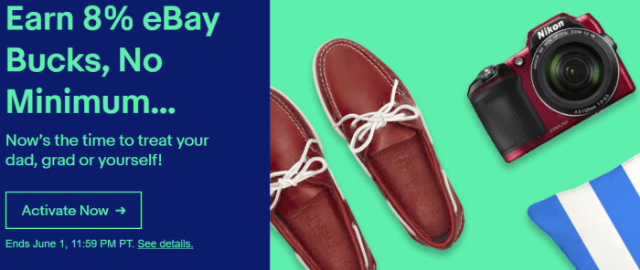 ebay bucks offer