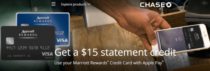 Marriott Rewards Apple Pay