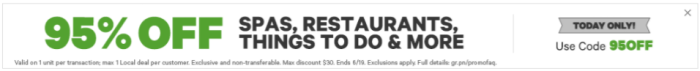 Groupon 95  off Spas  Restaurants  Things To Do  and More Max  30 Discount  Targeted Accounts.png