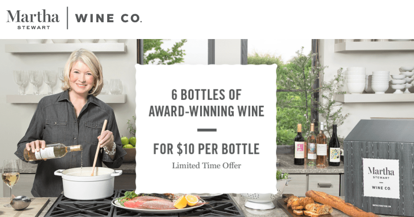 How To Maximize The Martha Stewart Wines Amex Offer