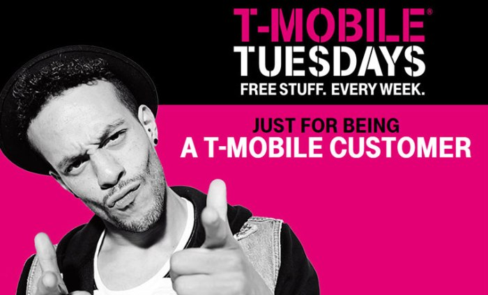 T-Mobile Tuesdays 7/30/19