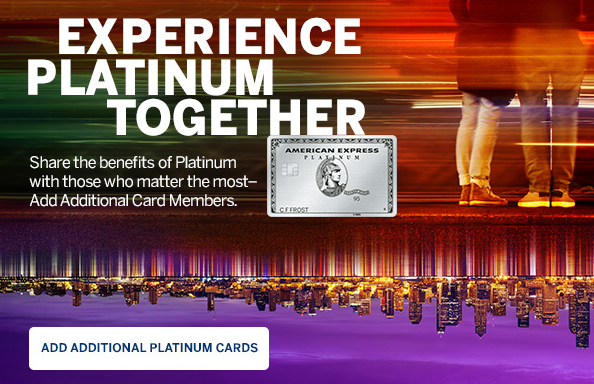 Earn Up To 20K MR Points When You Add Additional Users On Amex Platinum & PRG Cards