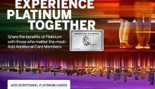 amex additional users spending bonus
