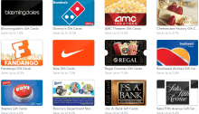 raise discounted gift cards