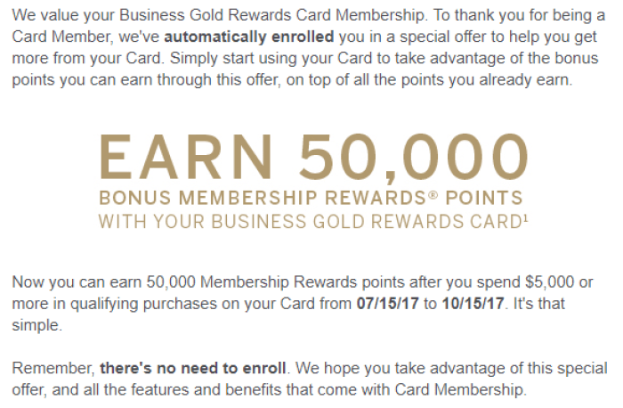amex business gold rewards spending bonus 50k - Business Gold Rewards Card