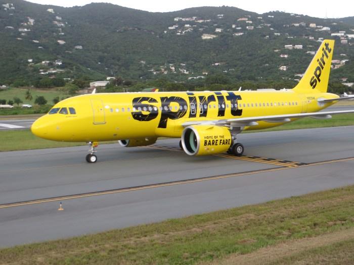 Spirit fare sale
