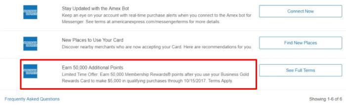 AmexBusiness Gold Rewards spending bonus