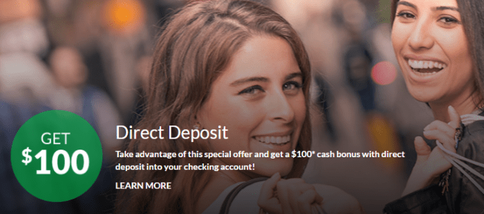 apple bank 100 direct deposit bonus