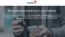 capital one 360 checking money market 400
