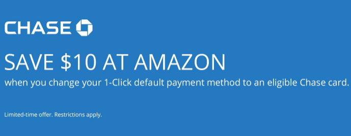 amazon chase 10 credit