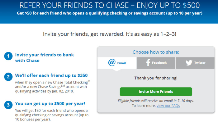 Dead Earn Referral Bonuses With Chase Bank Accounts Plus Up To