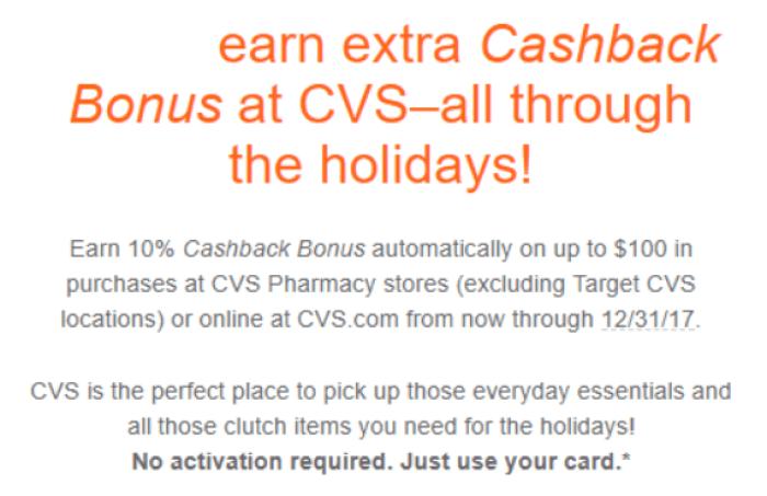 Discover CVS offer