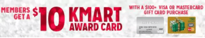 Kmart Gift Card Deal
