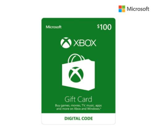 Microsoft Xbox Live eGift Card