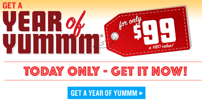 Red Robin Year Of Yummm