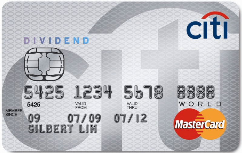 Citi Dividend Full 2018 Calendar For 5 Cash Back Categories