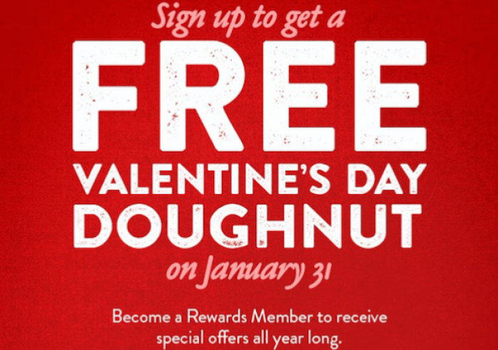 Free Doughnut Today At Krispy Kreme