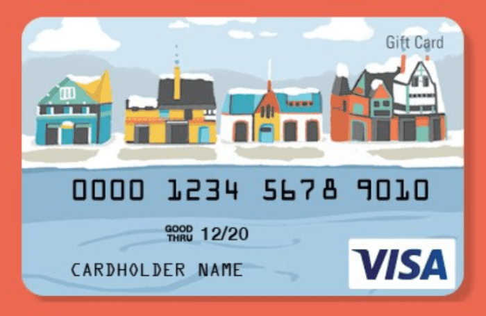No-Fee Visa Gift Cards