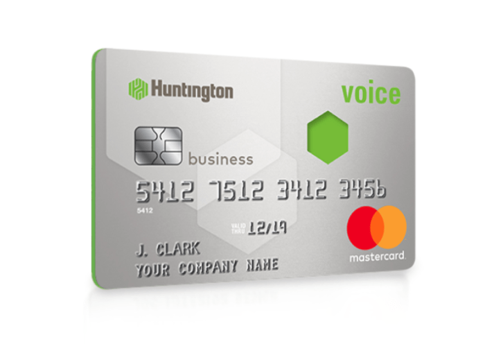 Huntington Bank Voice Business Card