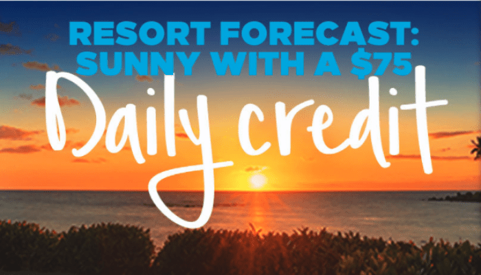 Hilton $75 Daily Credit