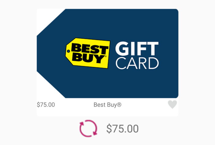 10% Off Best Buy Gift Cards