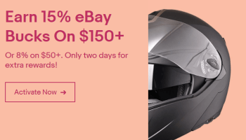 eBay Bucks Offer, 15% Back On Auto Parts And 8% On
