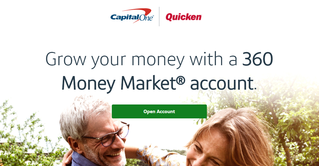Quicken/Capital One 360, 1.5% APY & up to $600 Money Market Account Bonus
