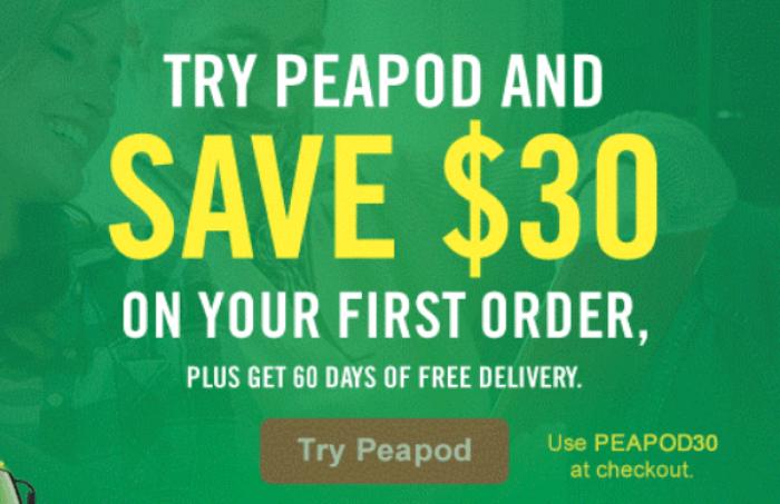 peapod 30 off