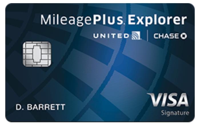 Chase United Explorer Credit Card