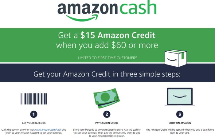 amazon cash promo