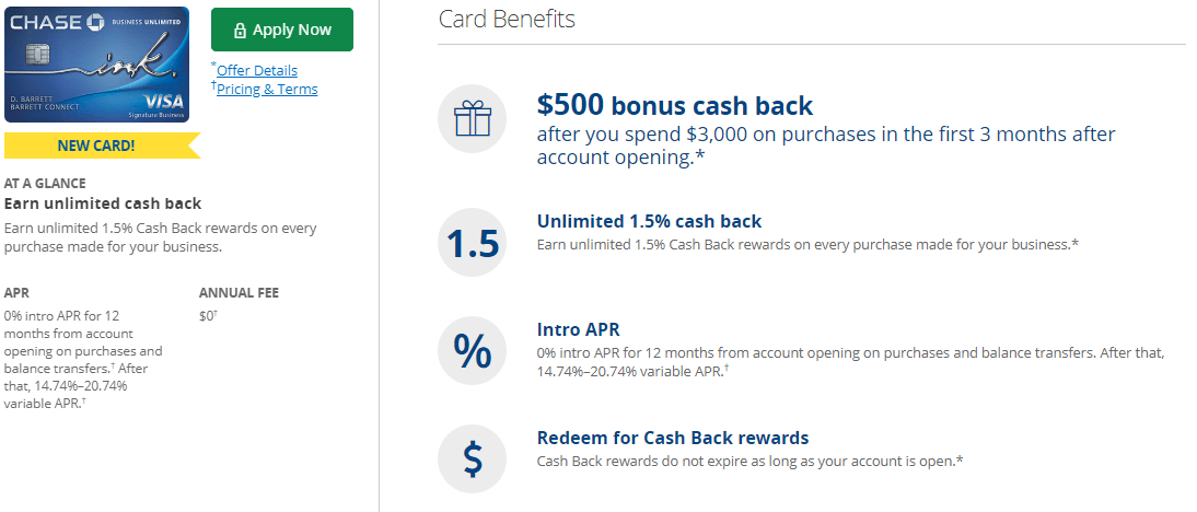 Chase ink business unlimited review 50000 bonus plus 15x that could be an a great earning rate especially since cash back can be converted to ultimate rewards the card was released on may 21 2018 reheart Gallery