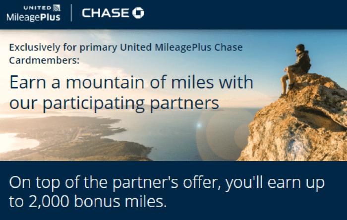 United MileagePlus promo