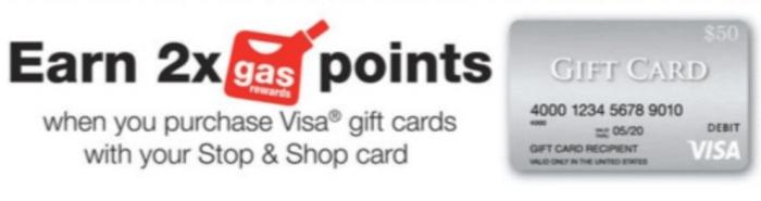 visa gift card fuel offer