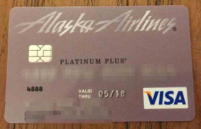 Alaska Airlines Platinum Plus