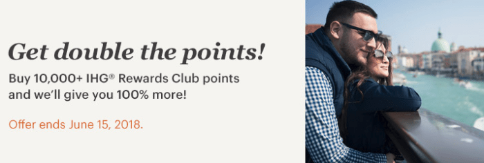 Buy ihg points 100 bonus