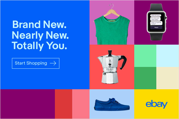 Ebay, $10 of $30 Coupon (YMMV, Expires 4/23)