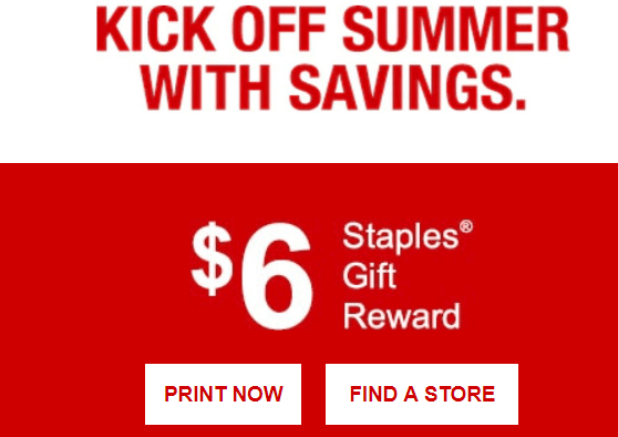 free staples rewards