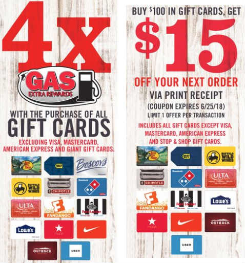 stop shop giant gift card deal