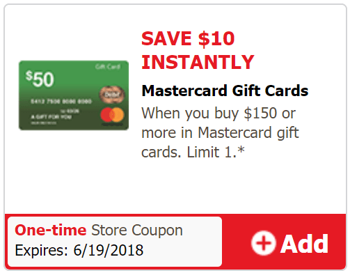 just4U mastercard deal