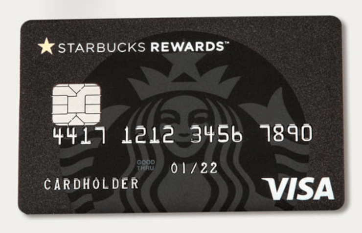 Chase Starbucks Card, Increased Bonus of 4,500 Stars